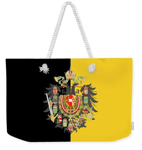 Habsburg Flag With Imperial Coat Of Arms 2 Weekender Tote Bag