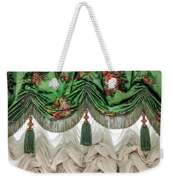 Imperial Russian Curtains Weekender Tote Bag