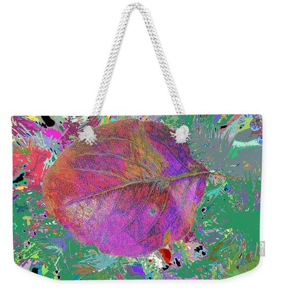 Imposition Of Leaf At The Season 4 Weekender Tote Bag