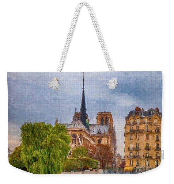 Impression, Paris Weekender Tote Bag