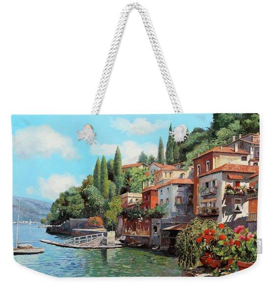Impressioni Del Lago Weekender Tote Bag