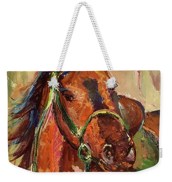 Impressionist Horse Weekender Tote Bag