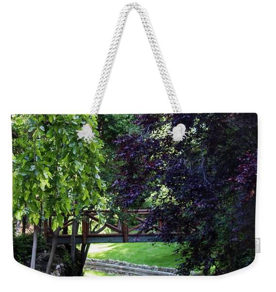 Impressionist Reminiscence  Weekender Tote Bag