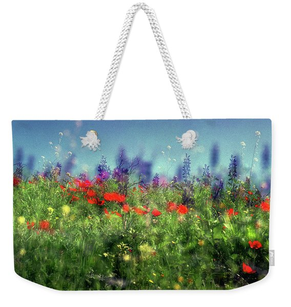 Impressionistic Springtime Weekender Tote Bag