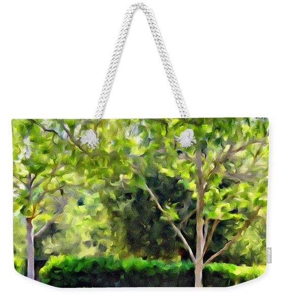 Impressions From A Park - One Weekender Tote Bag