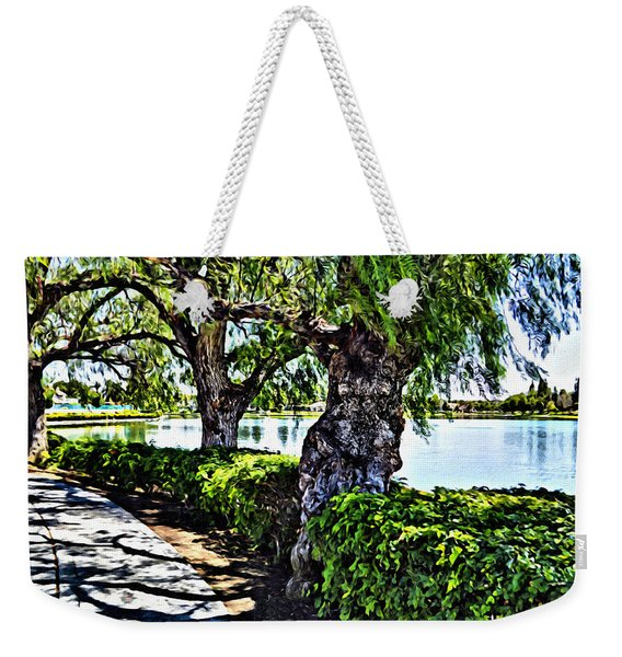 Impressions From A Park - Three Weekender Tote Bag