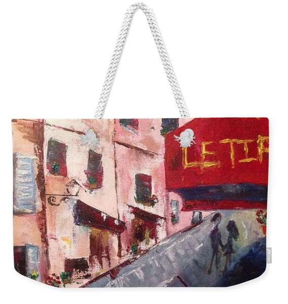 Impressions Of A French Cafe Weekender Tote Bag