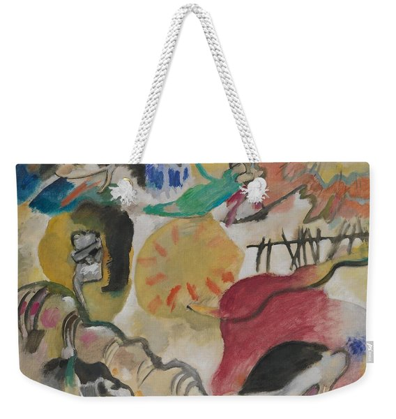 Improvisation 27 Garden Of Love II Weekender Tote Bag