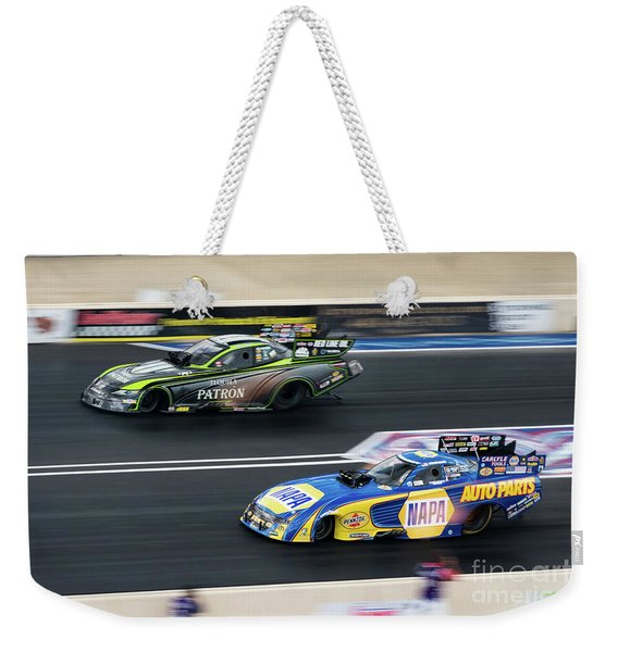 In A Blur Weekender Tote Bag
