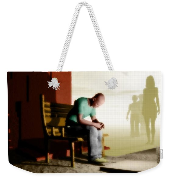 In A Fog Of Isolation Weekender Tote Bag