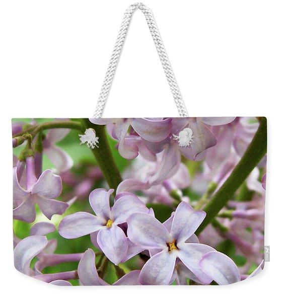 Sea Of Lilacs Weekender Tote Bag