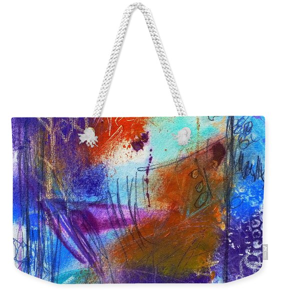 In A Summer Sky Weekender Tote Bag