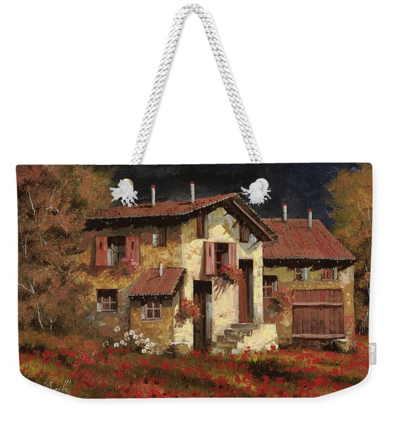 In Campagna La Sera Weekender Tote Bag