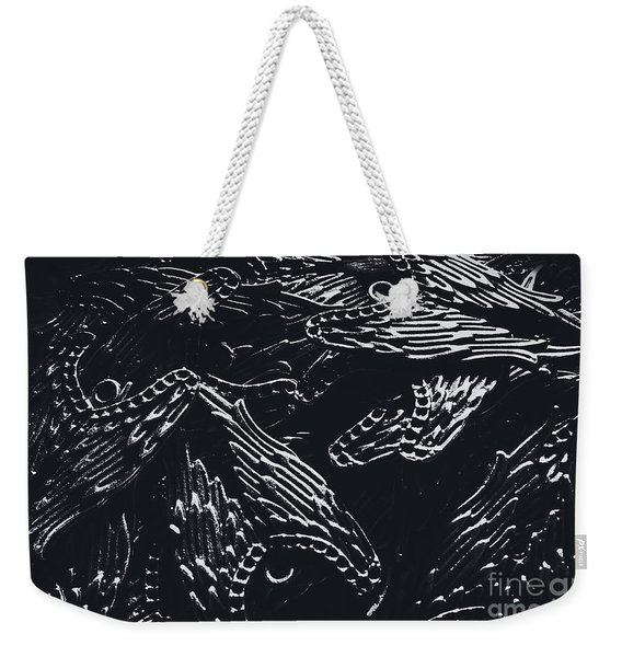In Contrasts Of Light And Darkness Weekender Tote Bag