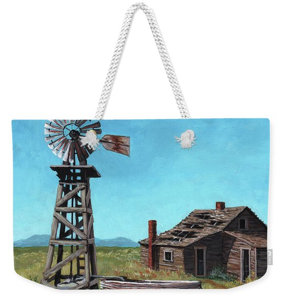 In Days Past Weekender Tote Bag