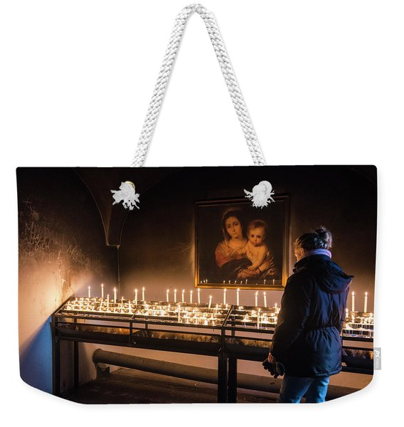 In Deep Thoughts Weekender Tote Bag