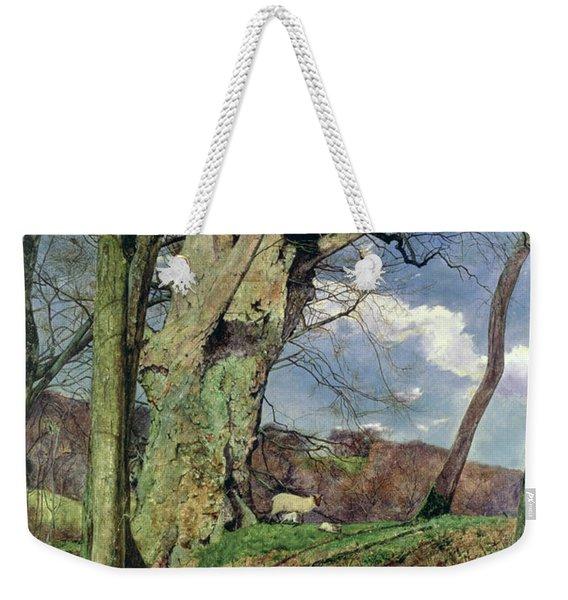 In Early Spring Weekender Tote Bag