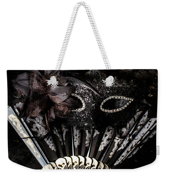 In Fashion Of Mystery And Elegance Weekender Tote Bag
