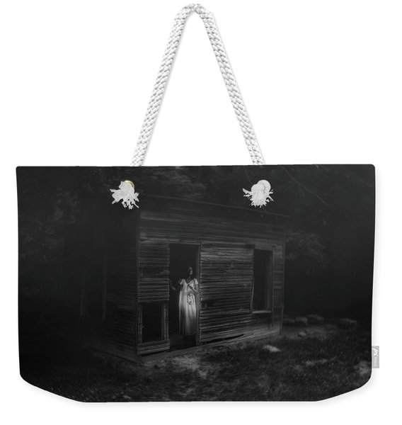 In Fear She Waits Weekender Tote Bag
