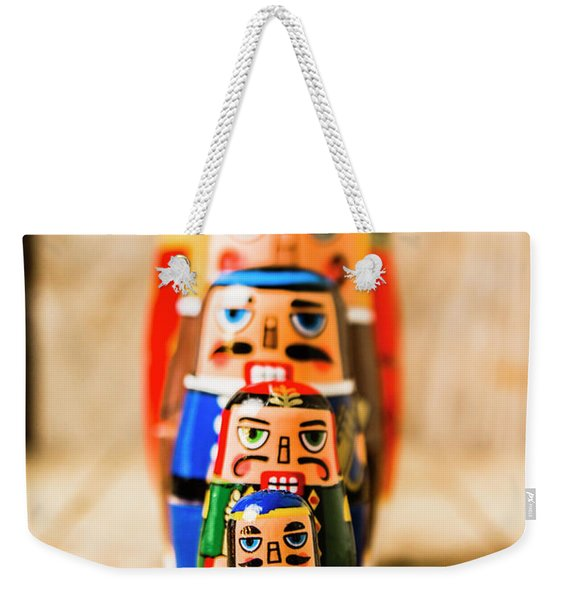 In Figurative Scale Weekender Tote Bag