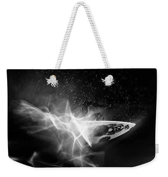 In Flames Weekender Tote Bag