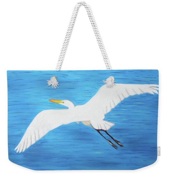 In Flight Entertainment Weekender Tote Bag