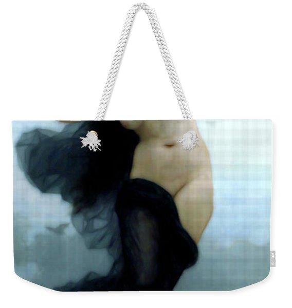 In Her Dreams She Flees The Night Weekender Tote Bag