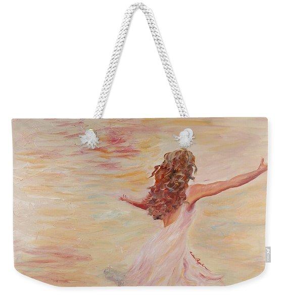 In Him We Live Weekender Tote Bag