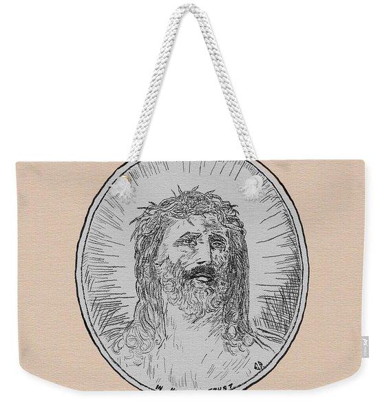 In Him We Trust Weekender Tote Bag
