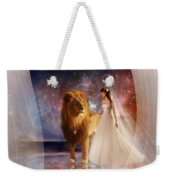 In His Presence  With Title Weekender Tote Bag