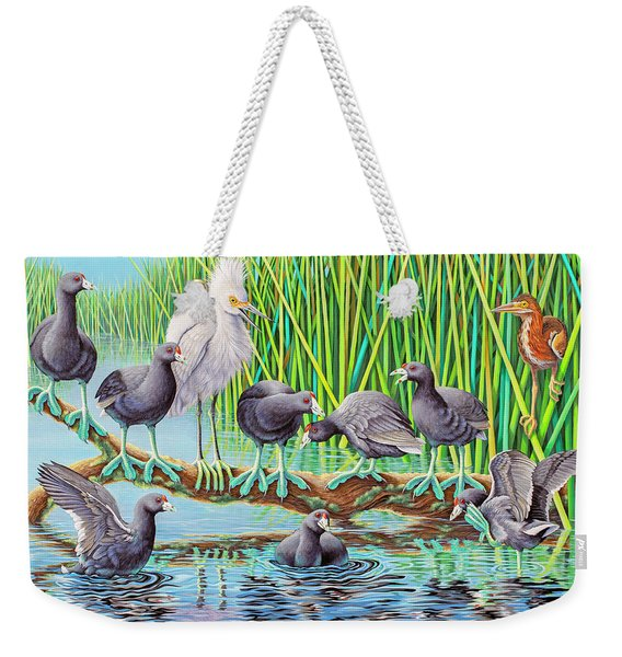 in Kahoots with Coots Weekender Tote Bag