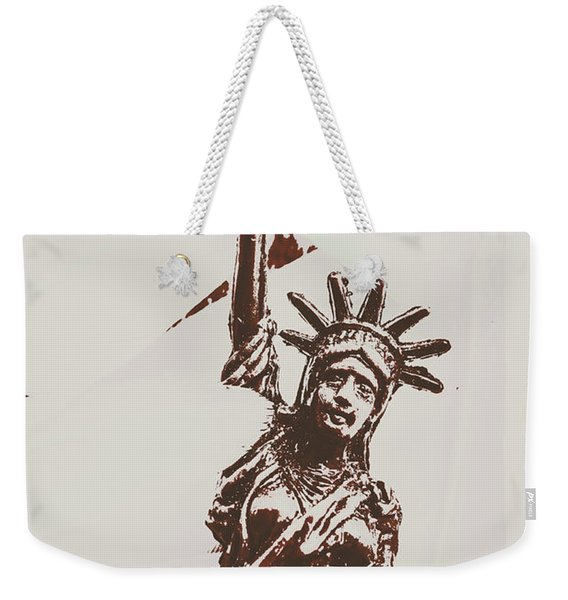 In Liberty Of New York Weekender Tote Bag