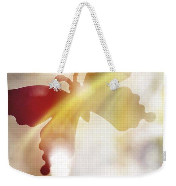 In Light Of Clipped Wings Weekender Tote Bag