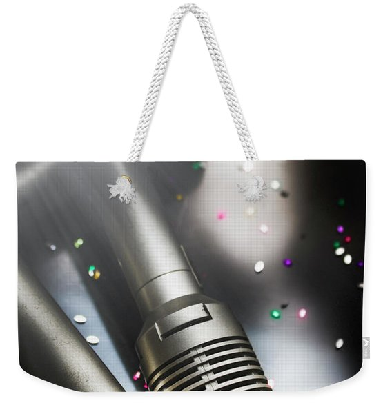 In Lights And Glitter Weekender Tote Bag