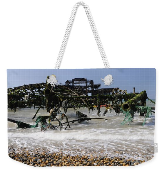 In Pieces Weekender Tote Bag