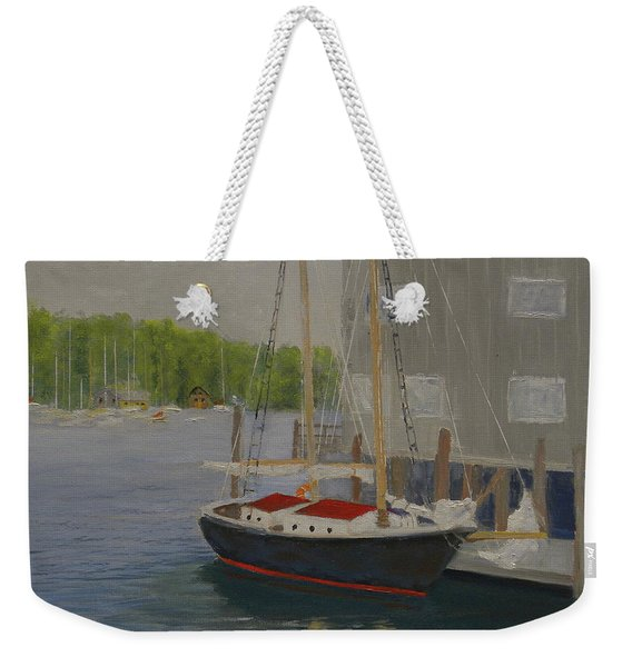 In Port Weekender Tote Bag