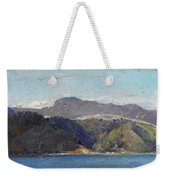 In Quarantine, Wellington Weekender Tote Bag