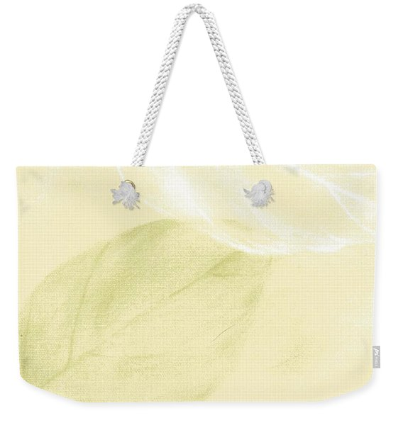 Weekender Tote Bag featuring the mixed media In The Breeze by Writermore Arts