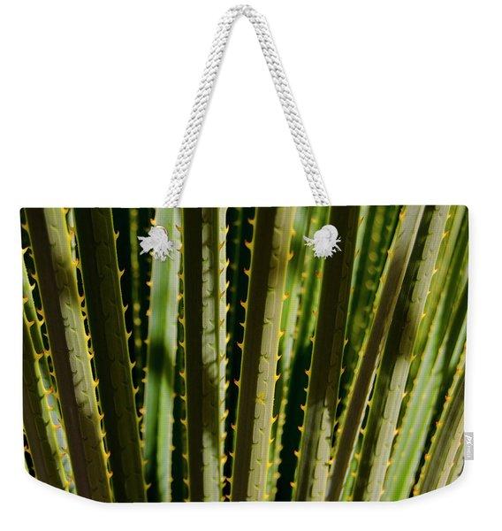 In The Cactaceae Weeds Weekender Tote Bag