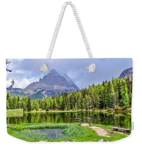 In The Clouds Weekender Tote Bag