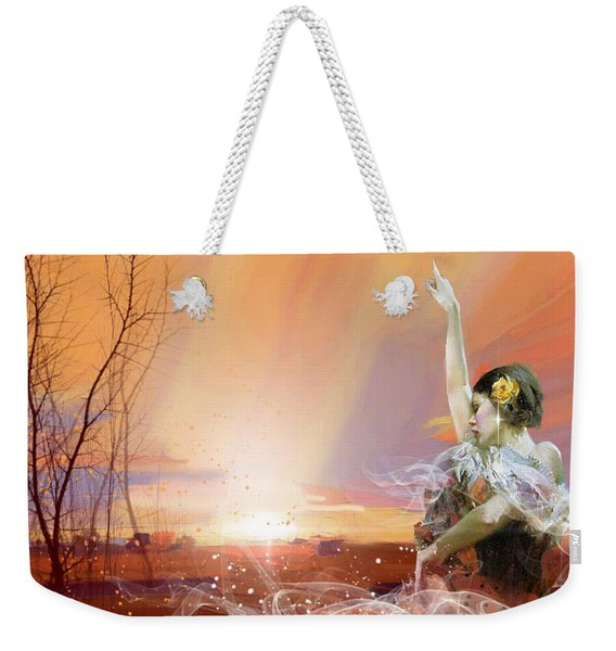 In The Desert Weekender Tote Bag