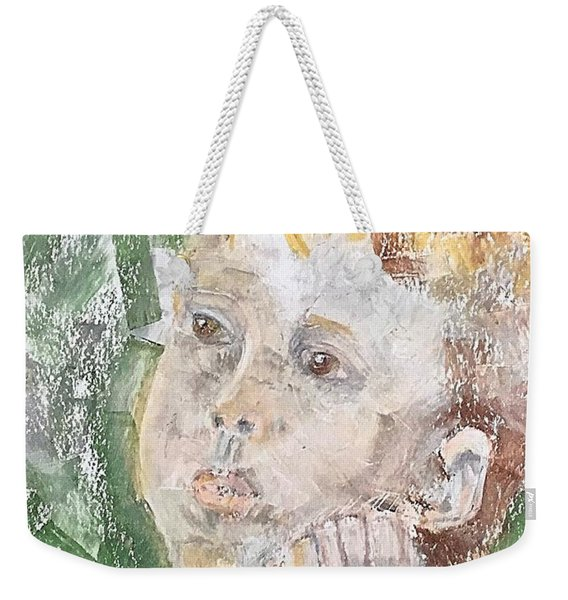 In The Eyes Of A Child Weekender Tote Bag