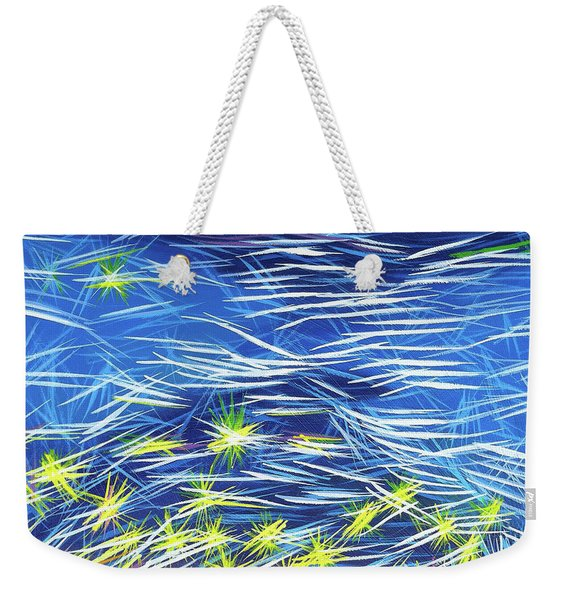 In The Flow Weekender Tote Bag