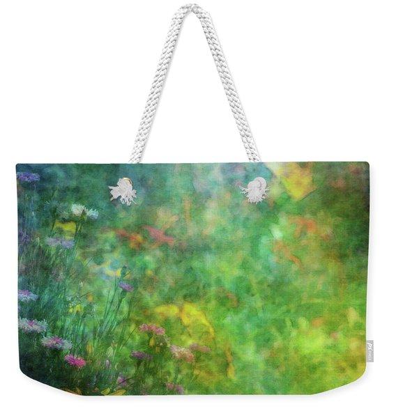 In The Garden 2296 Idp_2 Weekender Tote Bag