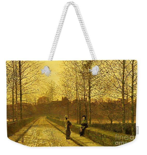 In The Golden Gloaming Weekender Tote Bag