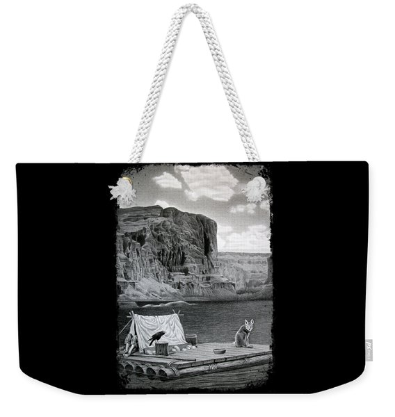 In The Grand Canyon Weekender Tote Bag