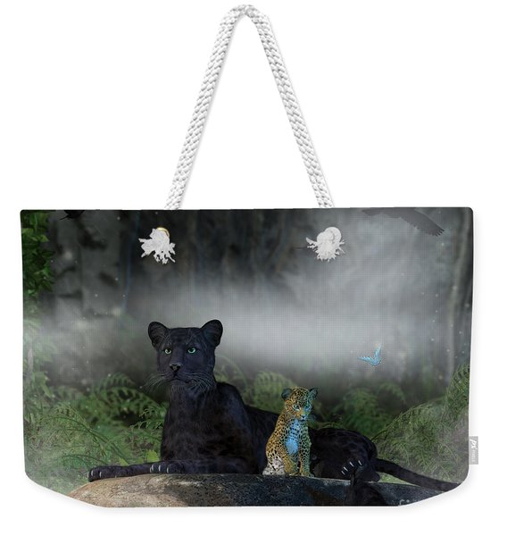 In The Jungle Weekender Tote Bag