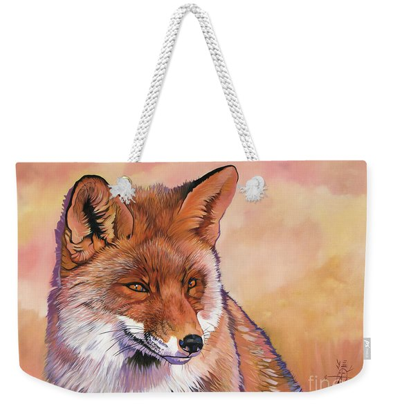 In The Know Weekender Tote Bag