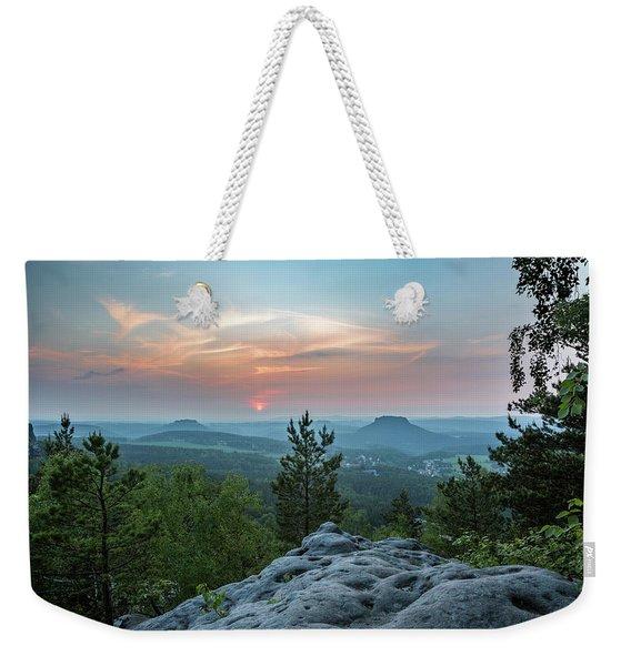 In The Land Of Mesas Weekender Tote Bag