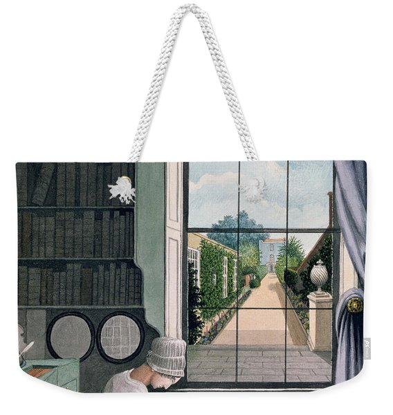 In The Library, St. James' Square Weekender Tote Bag